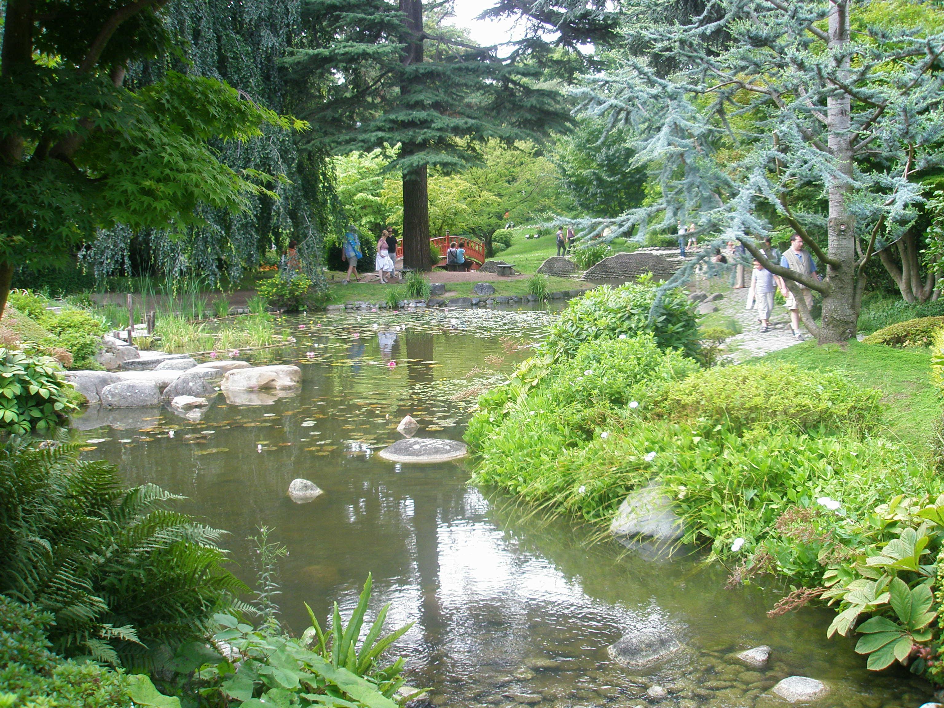 Le jardin japonais moderne 1¨re partie Expérience Japon