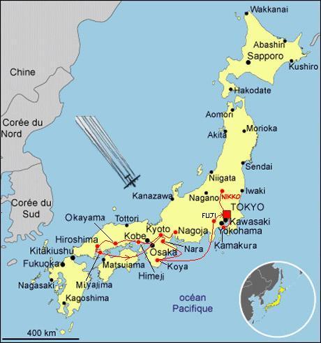 Voyage Japon été 2007   Expérience Japon